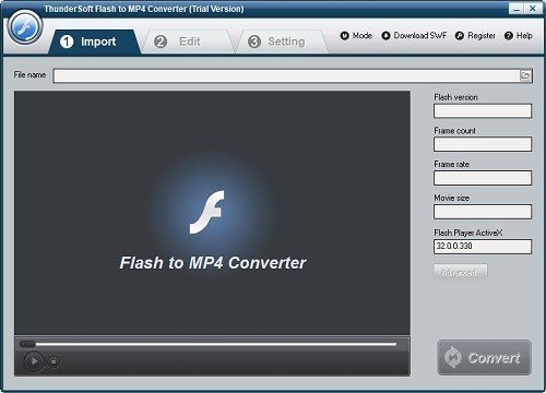 ThunderSoft Flash to MP4 Converter下载