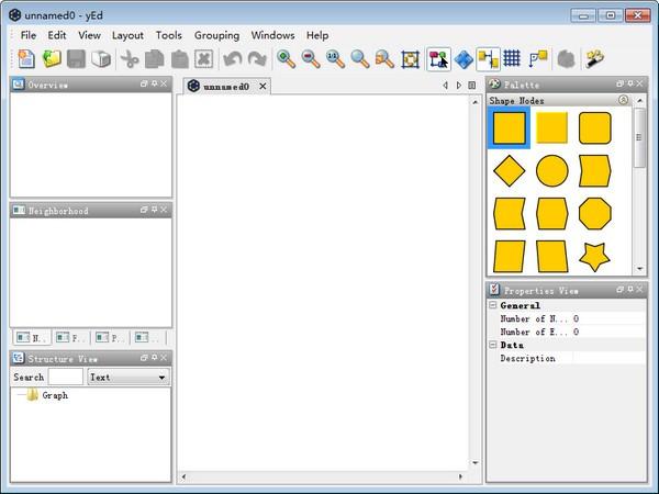 免费流程图软件(yEd Graph Editor)下载