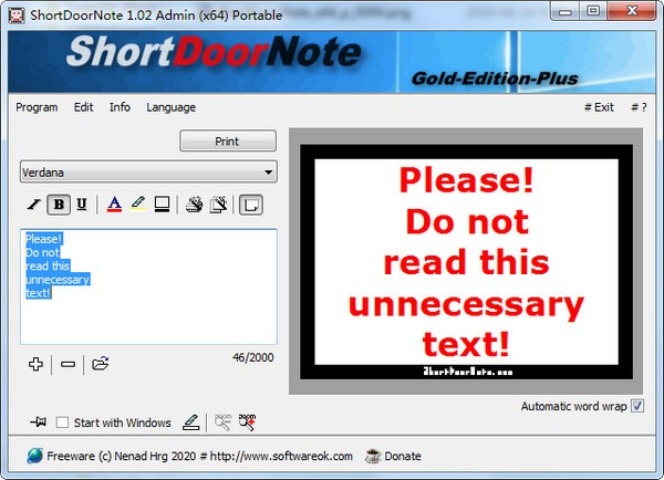 ShortDoorNote(速记工具)下载