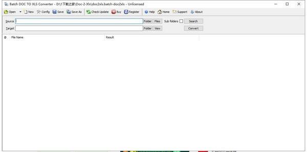 Batch DOC TO XLS Converter(文档转Excel软件)下载