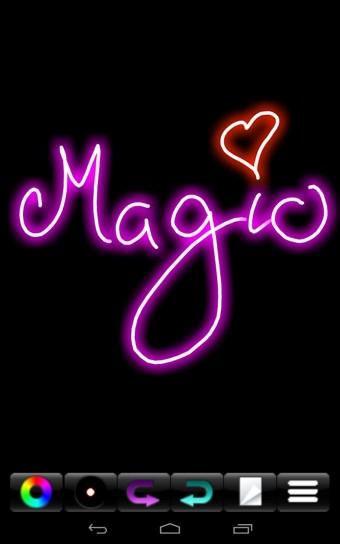 荧光涂鸦(Magic Marker)