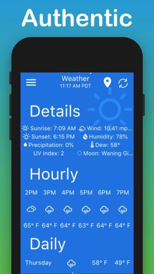 艾芬天气软件截图2