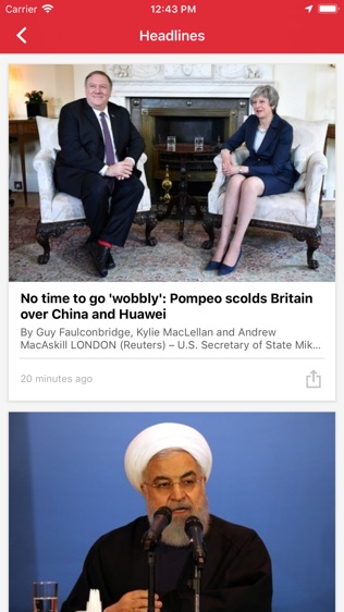 Breaking News Headlines: Live World, US, UK Alerts软件截图2