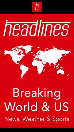 Breaking News Headlines: Live World, US, UK Alerts软件截图0