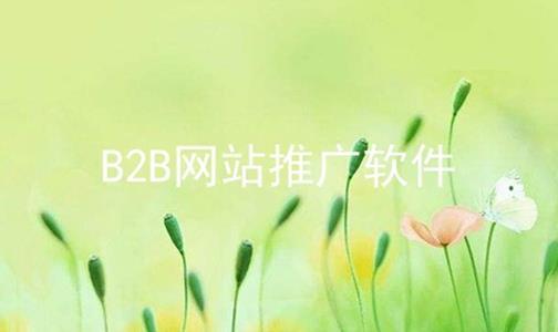 B2B网站推广软件