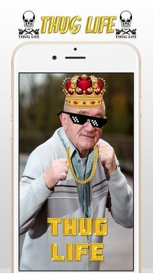 Thug life photo软件截图3