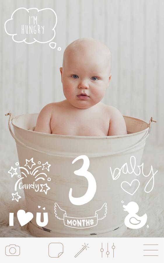 宝宝照片美化