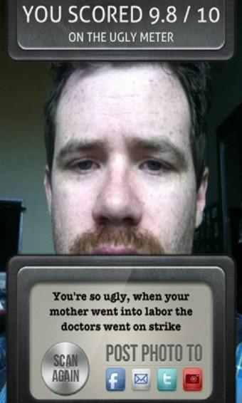 丑脸评分软件截图1