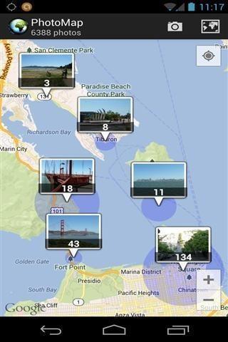 照片地图软件截图2