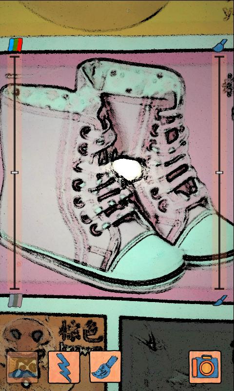 彩色素描相机