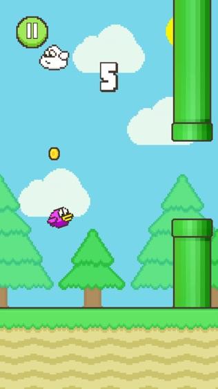Flappy Family: Flap Bird Flap软件截图0