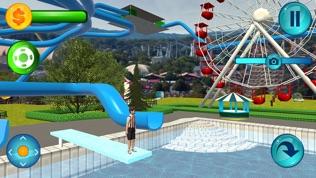 水上公园滑梯软件截图0