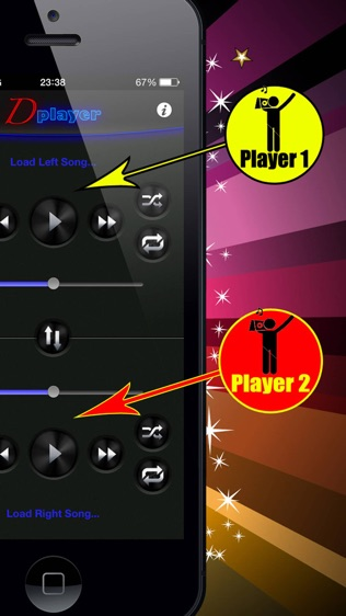 Double Player (for Music with Headphones Pro)软件截图2