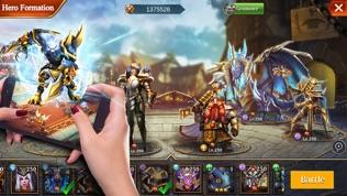 Trials of Heroes: Idle RPG软件截图0