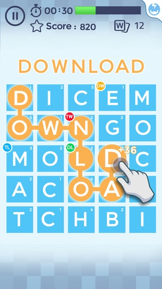 Word Scramble!软件截图0