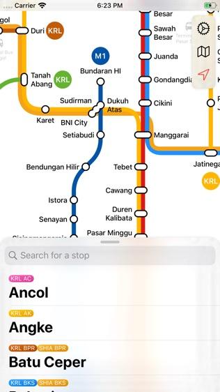 雅加达地铁软件截图0