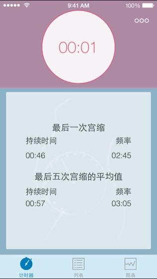 分娩宫缩计时器软件截图0