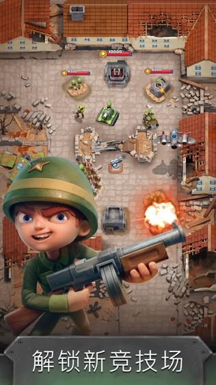 War Heroes Strategy Card Games软件截图2