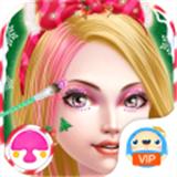 圣诞女孩化妆沙龙