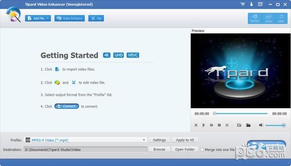 Tipard Video Enhancer(视频增强编辑器)下载