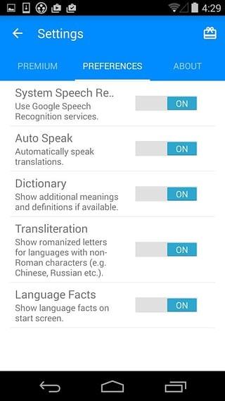 iTranslate Voice软件截图1