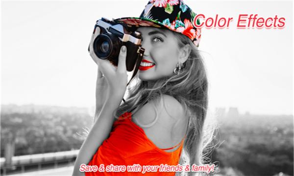 飞溅色彩相机