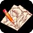 漫画学习画板