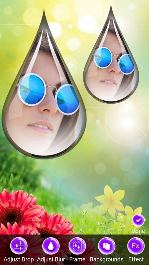 水滴美图相框