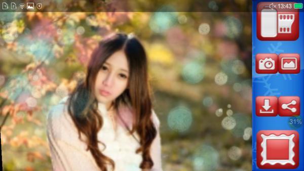 冬季相框摄影软件截图2