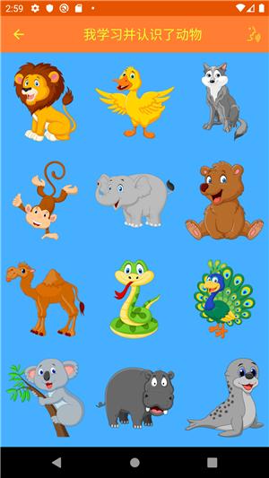 孩子们的动物