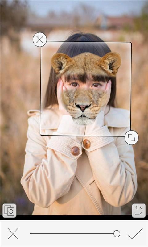恶搞动物变脸相机