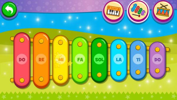 儿童游戏钢琴家软件截图1