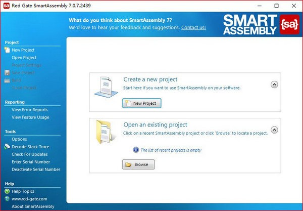 Red Gate SmartAssembly(NET代码保护工具)