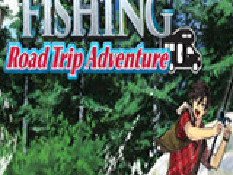 户外钓鱼:公路旅行冒