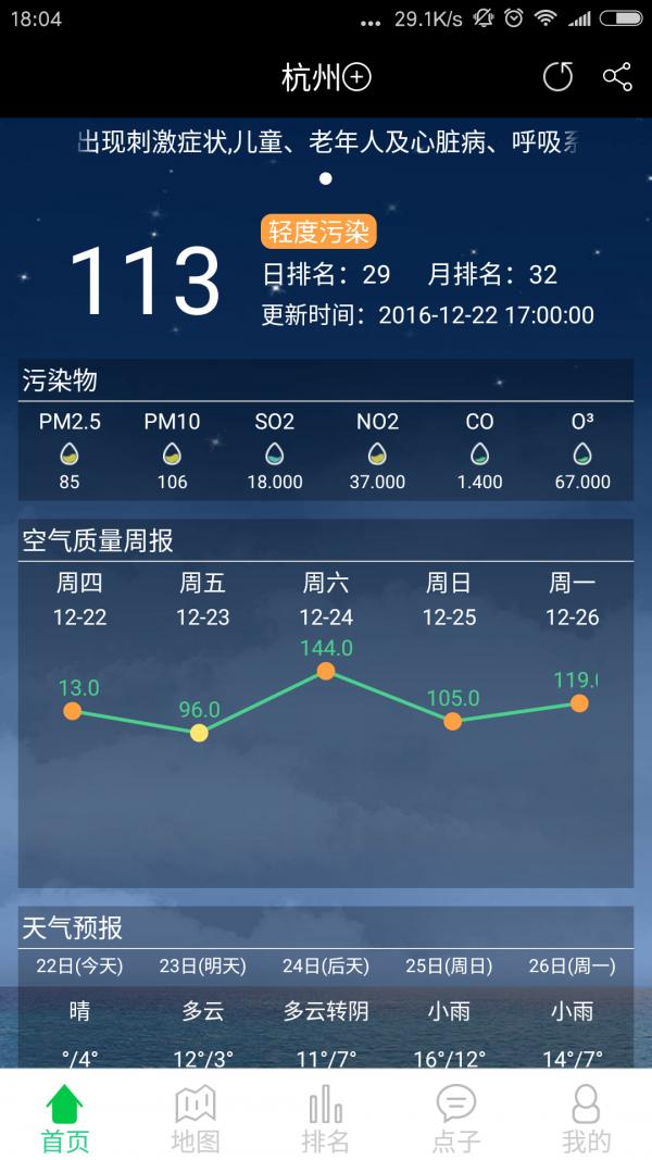 PM25真气网软件截图1