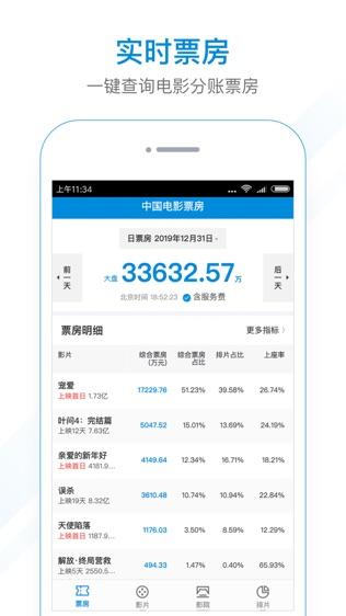 中国电影票房软件截图0