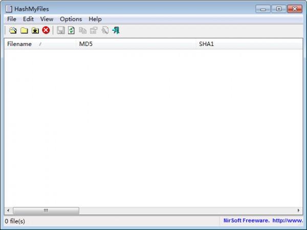 md5校验工具(HashMyFiles)