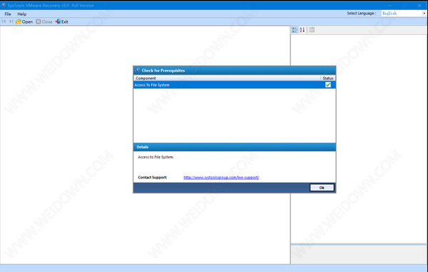 SysTools VMware Recovery(虚拟机数据恢复软件)下载