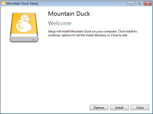 Mountain Duck(云存储空间本地管理工具)下载