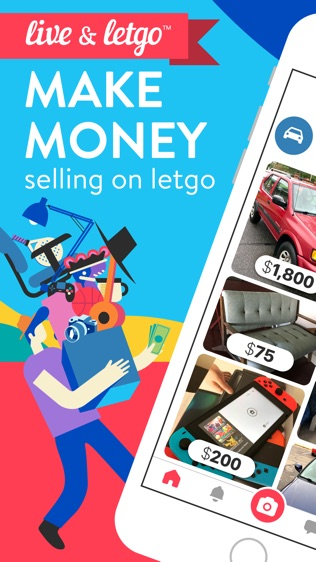 letgo: Buy & Sell Secondhand软件截图0