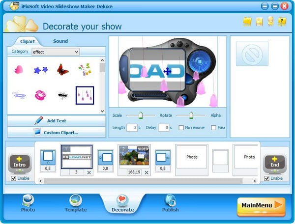 iPixSoft Video Slideshow Maker Deluxe下载
