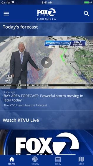 KTVU Weather App软件截图1