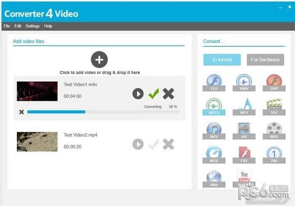 Converter4Video(视频格式转换器)