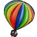 热气球探险