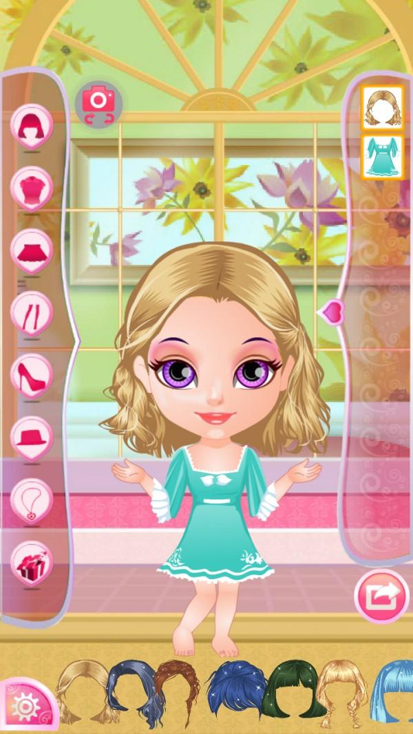 冰雪公主睡衣魔幻装扮软件截图2
