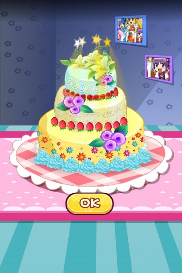 萌萌小魔仙蛋糕房软件截图2