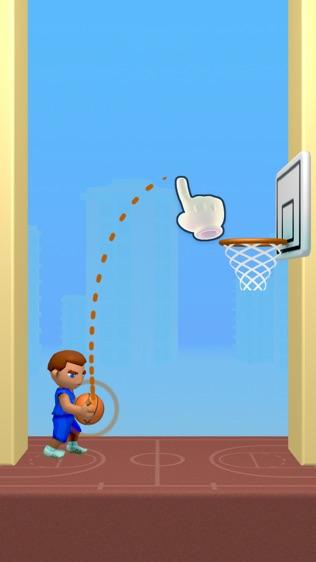 涂鸦篮球!软件截图0