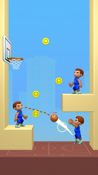 涂鸦篮球!软件截图2