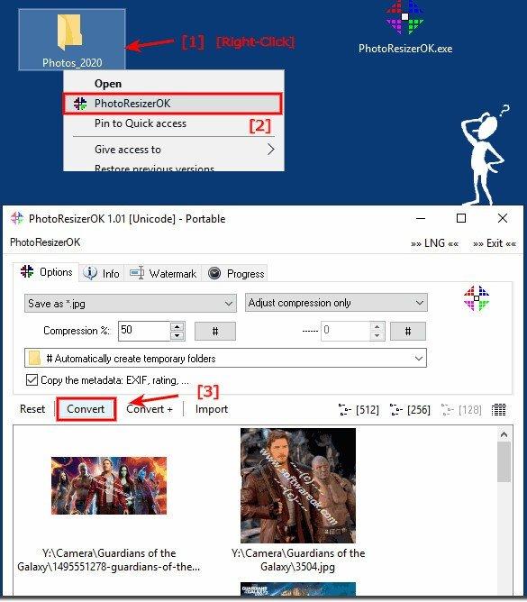 PhotoResizerOK(图像缩小工具)下载
