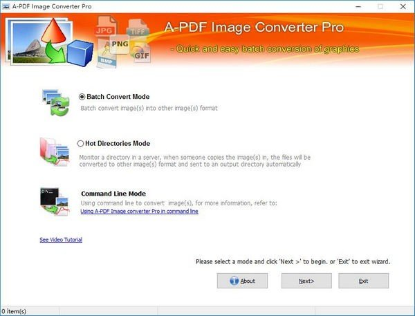 A PDF Image Converter Pro(图片批量转换器)